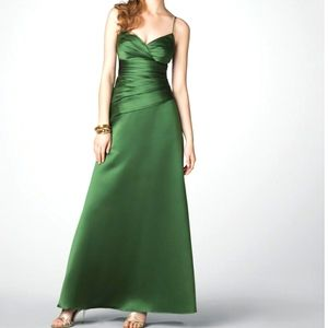 New Green Long Formal Bridesmaid Prom Gown 12